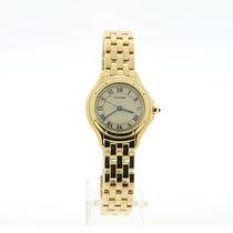 Cartier Gelbgold 26mm Quarz 42233672/1 gebraucht Schweiz, Genève