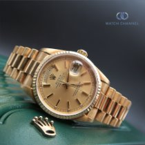 Rolex Day-Date 36 Yellow gold 36mm Gold No numerals South Africa, Johannesburg