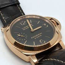 Panerai Rose gold 44mm Manual winding PAM 00511 pre-owned UAE, Abu Dhabi