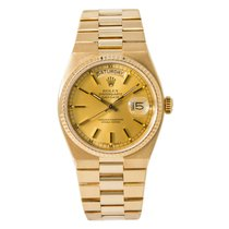Rolex Day-Date Oysterquartz Yellow gold 34mm Champagne United States of America, New York, New York