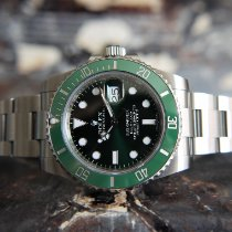Rolex Submariner Date Steel 40mm Green No numerals United Kingdom, Whitby- North Yorkshire