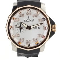Corum Admiral's Cup Competition 48 Tytan 48mm Biały