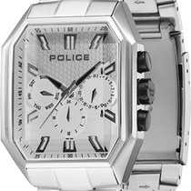 Police Steel 40mm Quartz PL new