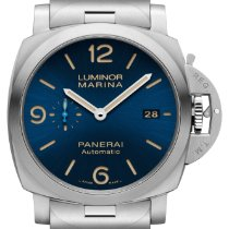 Panerai Luminor Marina Automatic Steel 44mm Blue Arabic numerals United States of America, Georgia, Alpharetta