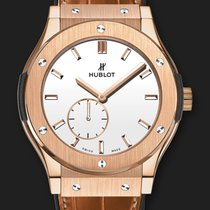 Hublot Classic Fusion Classico Ultra-Thin King Gold White 45 mm