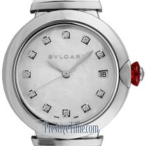 Bulgari Lucea Steel 36mm Mother of pearl United States of America, New York, Airmont