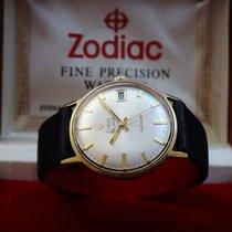Zodiac Vintage Hermetic 18k Gold Men's Watch