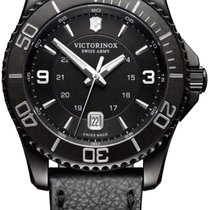 4489f668e82 Victorinox Swiss Army Maverick Black Edition Men s Watch 241787 ...