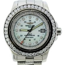 Breitling Colt White Mother Of Pearl Dial Stainless Steel...