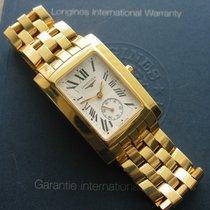 Longines DolceVita Quartz Mens Solid 18K Gold Watch