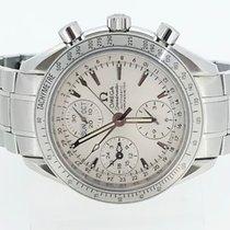 Omega Speedmaster Day Date Steel 40mm Silver No numerals