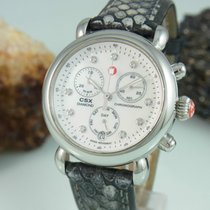 Michele Csx Chronograph Diamond Perlmutt Zifferb. Saphir...