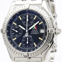 ブライトリング Chronomat Automatic Stainless Steel Men's Sports Watch...