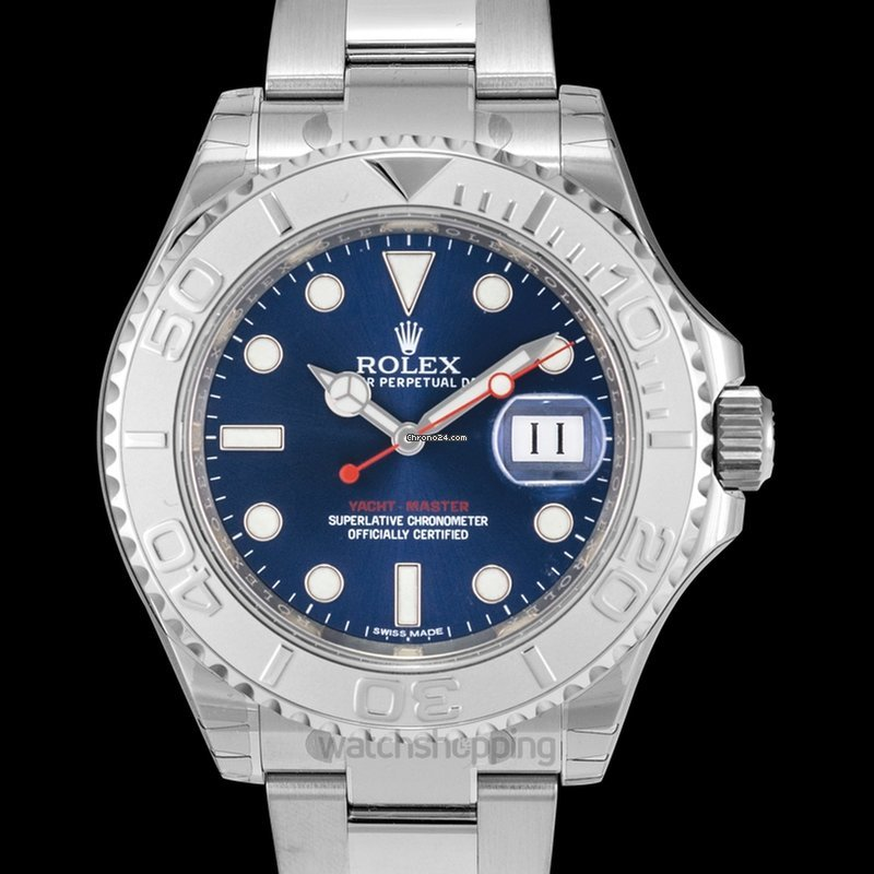 Rolex Yacht,Master 40 Automatic Blue Dial Stainless Steel Oy