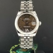 Rolex Lady-Datejust Сталь 31mm Белый