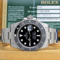 Rolex Submariner Date Stahl mit Papiere