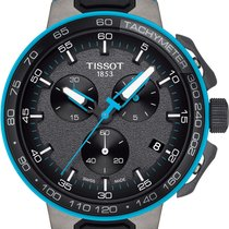 Tissot T-Race Cycling Staal 45mm Grijs