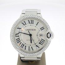 Cartier Ballon Bleu 42mm AftersetDiamonds (B&P2011) Automatic
