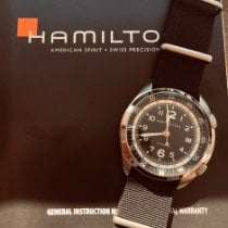 Hamilton Khaki Pilot Pioneer pre-owned 41mm Textile