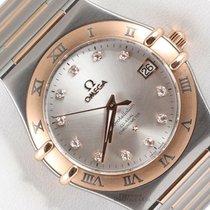 Omega Constellation Steel Silver