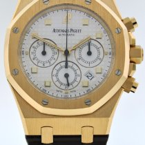 Audemars Piguet Royal Oak Chronograph Rose gold 39mm White No numerals United States of America, New York, New York
