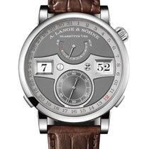 A. Lange & Söhne White gold Manual winding Grey 44.2mm new Datograph