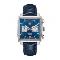 TAG Heuer Monaco Calibre 12 Stahl 39mm Blau