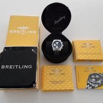 Breitling Chronomat Stahl 39mm Schwarz Keine Ziffern Schweiz, Bauma