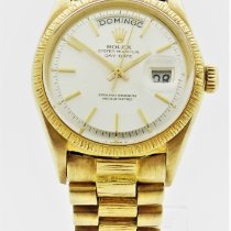 Rolex Day-Date Yellow gold 36mm White No numerals