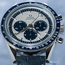 Omega Speedmaster Professional Moonwatch Otel 39.7mm Argint Fara cifre