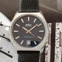 BWC-Swiss Acél 36,8mm Automata Vintage Butex 753121 új