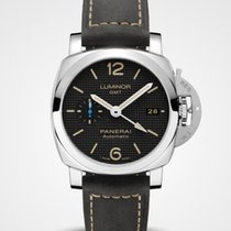 Panerai Luminor 1950 3 Days GMT Automatic Steel 42mm Black Arabic numerals