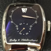 Dubey & Schaldenbrand Steel 42mm Manual winding 200DS Jump hour pre-owned