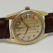 Omega Gold/Steel 34mm Automatic 1960 OMEGA Seamaster Calendar Gold Geneve Striped dial C 562 pre-owned United States of America, Florida, Miami