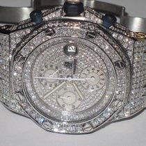 Audemars Piguet Royal Oak Offshore gebraucht 42mm Chronograph Datum Stahl