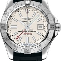 Breitling Avenger II GMT Steel 43mm Silver United States of America, New York, Airmont