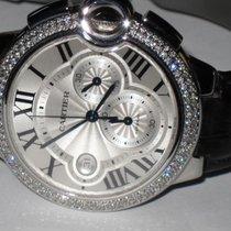 Cartier Ballon Bleu 44mm Steel 44mm Silver Roman numerals United States of America, New York, Wantagh