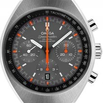 Omega Speedmaster Mark II Stahl Automatik Co-Axial Chronograph...