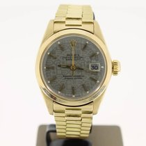 Rolex 6916 Or jaune 1979 Oyster Perpetual Lady Date 26mm occasion