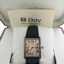 卡地亚 (Cartier) 8DAYwatch-New WSTA0028 TANK STAINLESS STEEL WHITE