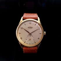 Roamer 35mm Manual winding 1950 pre-owned Champagne