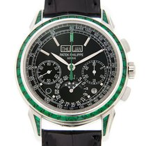 Patek Philippe Grand Complications Platinum Black Manual Wind...
