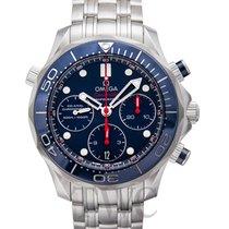 オメガ Seamaster Diver 300m Chronograph Blue Steel 41.5mm - 212.30.