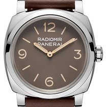 Panerai Special Editions Steel 47mm Brown Arabic numerals United States of America, New York, New York