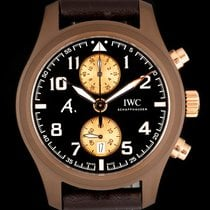 IWC Pilot Chronograph Ceramic 46mm Brown Arabic numerals United Kingdom, London