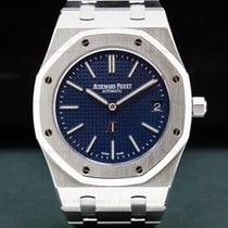 Audemars Piguet 39mm Automatic pre-owned Royal Oak Jumbo Blue