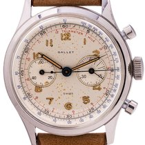 Gallet Steel 37mm Manual winding pre-owned United States of America, California, West Hollywood