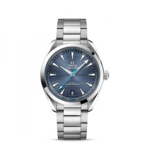 Omega Seamaster Aqua Terra Steel 41mm Blue United States of America, Iowa, Des Moines