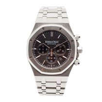 34823fb187a Audemars Piguet Royal Oak Chronograph pre-owned 41mm Black Chronograph Date  Steel