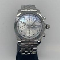 Breitling Chronomat 38 neu 2015 Automatik Chronograph Uhr mit Original-Box und Original-Papieren W1331012/A774/385A
